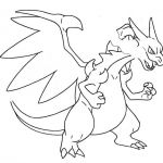 Pokemon Xy Coloring Pages Beautiful Charizard Coloring Page