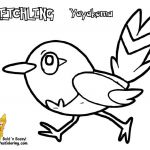 Pokemon Xy Coloring Pages Excellent Pokemon Fletchling Coloring Pages – From the Thousand Photographs On