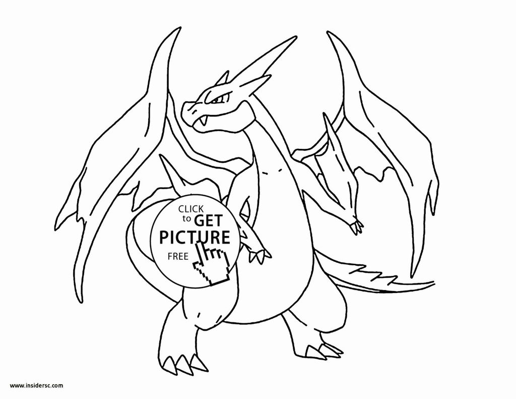 Pokemon Xy Coloring Pages Exclusive Lovely Charizard Coloring Page 2019