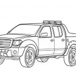 Police Car Coloring Pages Awesome Coloring Page Free Printable Coloring Pages Pickup Trucks