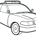 Police Car Coloring Pages Awesome Police Car Coloring Pages