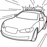 Police Car Coloring Pages Awesome Police Coloring Pages for Kids