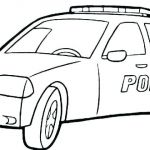 Police Car Coloring Pages Best Police Car Coloring Pages