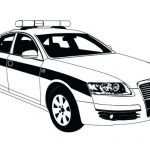 Police Car Coloring Pages Inspiration Police Car Coloring Sheets Coloring Pages Police Police Car Coloring
