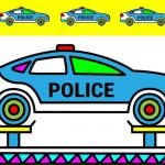 Police Car Coloring Pages Marvelous Repair Police Car Coloring Pages Colors for Kids Vehicles Video