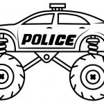 Police Car Coloring Pages to Print Exclusive Coloring Truck tolorloring Bus and Cars