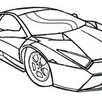 Police Car Coloring Pages to Print Inspiration Car Drawing for Preschoolers