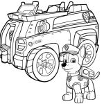 Police Car Coloring Pages to Print Inspiration Paw Patrol Chase Police Car Coloring Page 13 Paw Patrol Coloring