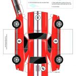 Police Car Template Awesome Paper Model Car Templates Papercraft Printable – Rpmurphy