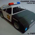 Police Car Template Best Of Best Pin by Buildings Paper Model Car Templates 3d Truck Template