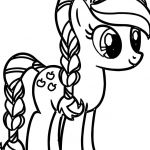 Pony Coloring Pages Inspirational My Little Pony Coloring Pages