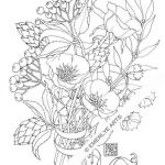 Poppy Coloring Pages Amazing Poppy Love An Adult Coloring Page by Cynthia Emerlye Available as