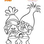 Poppy Coloring Pages Beautiful Dreamworks Trolls Coloring Pages