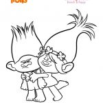 Poppy Coloring Pages Brilliant Troll Coloring Pages