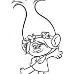Poppy Coloring Pages Exclusive Poppy Troll Coloring Page astonising 16 Fresh Trolls Poppy Coloring