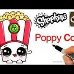 Poppy Corn Shopkin Inspiring 17 Best How to Draw Shopkins Images In 2017