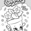 Poppy Popcorn Shopkins Awesome Printable Shopkins Coloring Pages