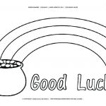 Pot Of Gold Template Free Printable Awesome Pot Gold Coloring Page Lovely Pot Gold Printable Template Pot