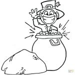 Pot Of Gold Template Free Printable Fresh Pot Gold Coloring Page Pages Coins Free G – Longesfo