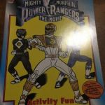 Power Rangers Coloring Books Marvelous Mighty Morphin Power Rangers the Movie Activity Fun Coloring Book