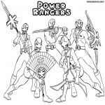 Power Rangers Colouring In Brilliant Power Rangers Coloring Pages