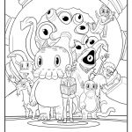 Preschool Halloween Coloring Pages Amazing Free C is for Cthulhu Coloring Sheet Cool Thulhu