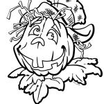 Preschool Halloween Coloring Pages Creative Best Coloring Page Adult Od Kids Simple Stock Vector – Fun Time