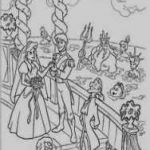 Prince and Princess Coloring Pages Amazing Prince Coloring Page Kanta