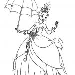 Prince and Princess Coloring Pages Excellent Printable Princess Tiana Coloring Pages for Kids Cool2bkids