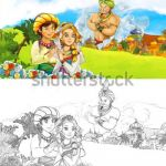 Prince and Princess Coloring Pages Inspirational Royalty Free Stock Illustration Of Cartoon Scene Happy King Od