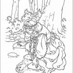 Princess Color Books Marvelous Easy Coloring Page