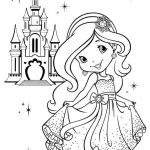 Princess Coloring Pages Online Amazing Princess Girl Coloring Pages Online Free Castle Crown