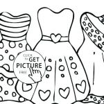 Princess Coloring Pages Online Awesome Coloring Pages Of Dresses – Eduardonaranjo