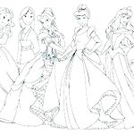 Princess Coloring Pages Online Inspiring Free Coloring Sheets Princess Printable – Ommediawerks