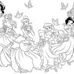 Princess Coloring Pages Online Wonderful Coloring Coloring Pages Disney Characters fors with Awesome