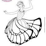 Princess Coloring Pages to Print Creative 10 Barbie Outline 0d Kids Coloring