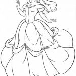 Princess Coloring Pages to Print Wonderful Free Printable Belle Coloring Pages for Kids