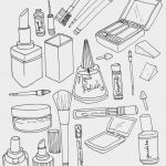 Print Adult Coloring Pages Best Makeup Coloring Pages to and Print for Free