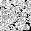 Printable Adult Coloring Pages Exclusive Coloring Pages for Adults Flowers