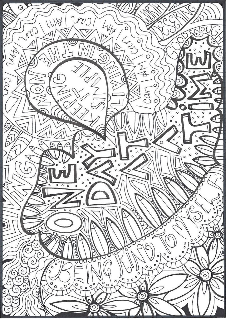 Printable Adult Coloring Pages Pdf Awesome E Day at A Time Coloring Page Adult Coloring Page