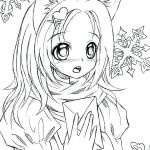 Printable Anime Coloring Pages Amazing Anime Coloring Pages Line