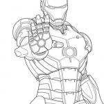 Printable Avengers Coloring Pages Excellent Lego Iron Man Coloring Page Wecoloringpage