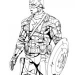 Printable Avengers Coloring Pages Inspirational √ Captain America Coloring Pages or Pin Od Emma James Na Avengers
