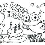 Printable Birthday Coloring Pages Inspired 18 Elegant Happy Birthday Coloring Pages