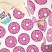 Printable Birthday Wrapping Paper Creative Donut Wrapping Paper