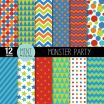 Printable Birthday Wrapping Paper Excellent Digital Paper Birthday Party Invitation Scrapbooking Papers