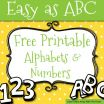 Printable Bubble Letters Free Inspiration Free Printable Letters and Numbers for Crafts