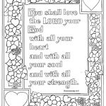Printable Color by Number for Adults Amazing Deuteronomy 6 5 Bible Verse to Print and Color This is A Free