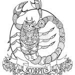 Printable Color Pages Elegant √ the Scorpion Coloring Pages for Kids or Zodiac Coloring Pages
