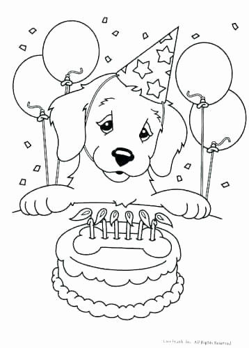 Printable Coloring Pages Birthday Awesome Birthday Coloring Pages